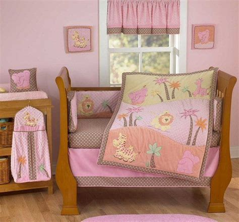 Pink Safari Bedding Set 17 Best Images About Safari Baby Room Or Boy On Pinterest Jungle Animals Baby Crib