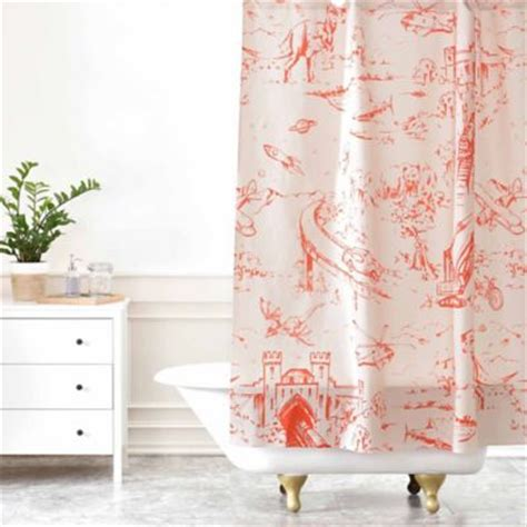 pink toile shower curtain toile shower curtain pink curtain menzilperde net