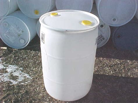 free 55 gallon plastic drum 55 gallon barrel drum plastic fuel watering white