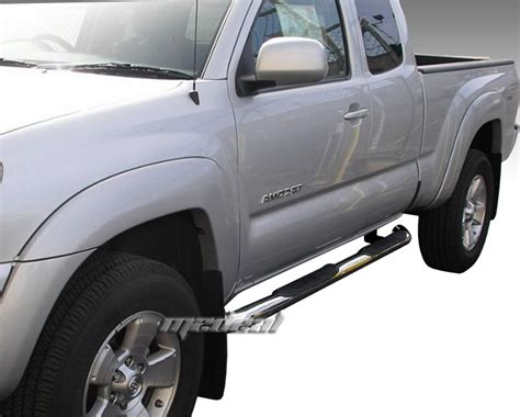 Toyota Tacoma Step Bars 3 Stainless Side Step Bars For 2005 2017 Toyota Tacoma