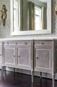 Grey Dining Room Sideboard Gray Distressed Buffet Cabinet Dining Room