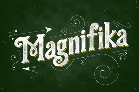 magnifika font befontscom