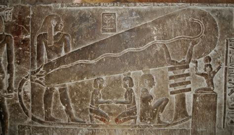 which of the following show evidence of ancient river beds alien visitors taught ancient egyptians how to use