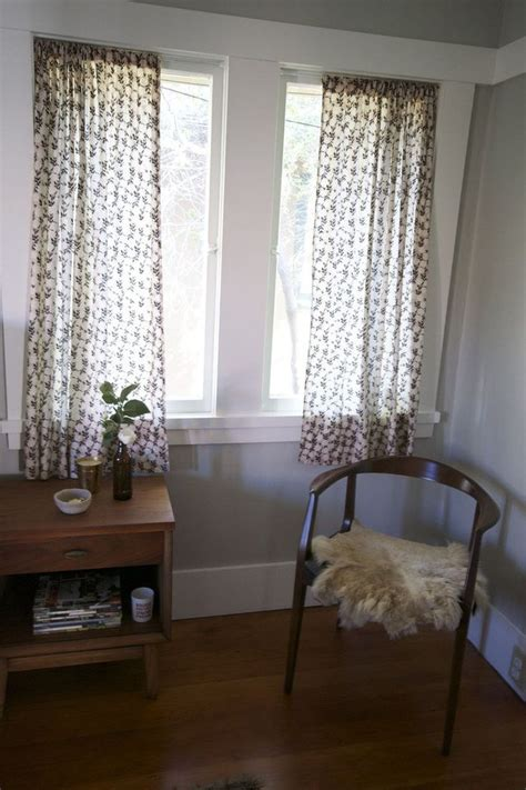 curtain rods inside window frame 17 best images about curtains on pinterest linen