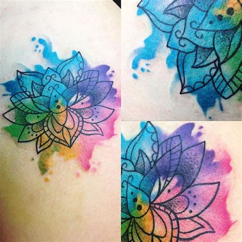 watercolor lotus flower tattoo 17 ideas about watercolor lotus on