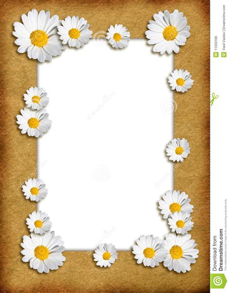 flower clock template floral template royalty free stock image image 11033166