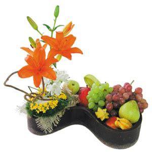 arreglos para bodas ideas de florales frutales y con flores melisa