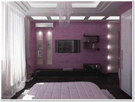 35 Inspirational Purple Bedroom Design Ideas Purple Design Bedroom