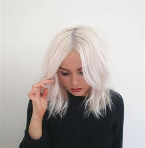 hair color platinum blonde bob cuts silver hair color for hairstyles for women over 60