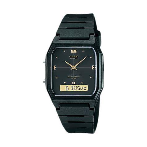 Terbatas Jam Tangan Casio Original Pria Aw 48he 9a Termurah jual casio jam tangan pria aw 48he 1avdf harga kualitas terjamin blibli