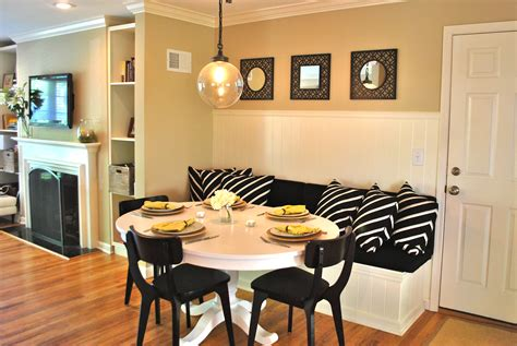 diy banquette seating diy kitchen banquette part 2 love your home
