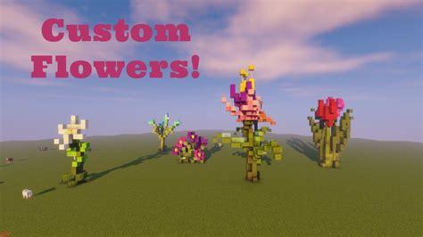 custom flower designs minecraft 1 12