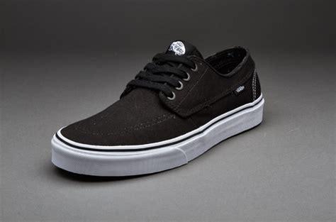 Harga Tas Merk Vans sepatu sneakers vans brigata style 84 black true white