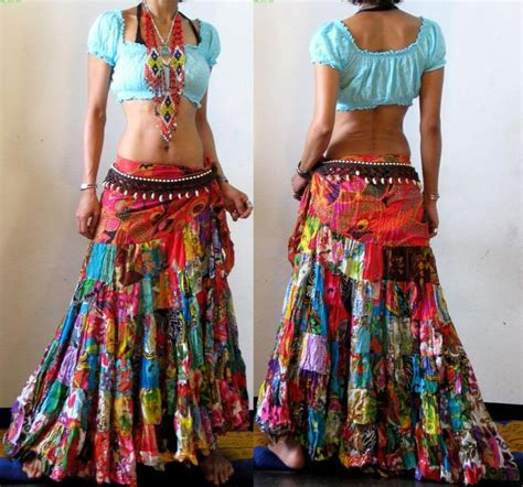How To Make A Patchwork Skirt - 25 best ideas about hippie skirts on hippie