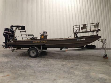 bowfishing boats for sale in louisiana 2010 gator trax gator flat bowfishing boats misc other