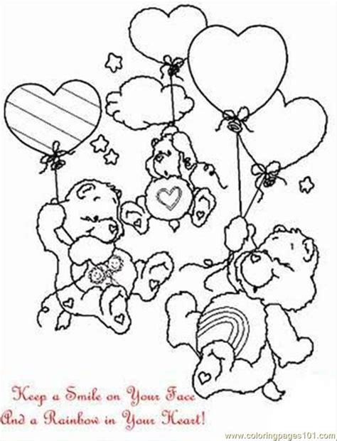 care bear coloring pages pdf carebearcolor