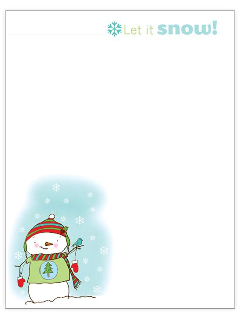 Free Christmas Letter Templates Free Merry Letter Template