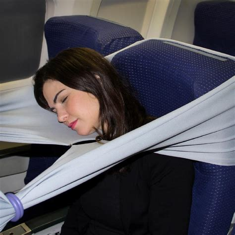 airplane sleep pillow not just the knee defender travel gadgets that promise