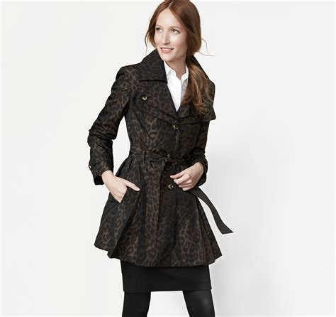 Found A Saucy Leopard Trench Coat by Leopard Trench Johnston Murphy