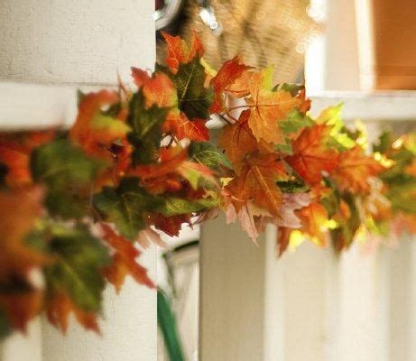 fall leaves garland decorations leaf garlands fall wedding decorations slideshow my