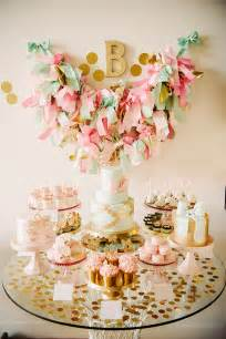 Blake s girly bow themed first birthday party by sweet amp saucy shop