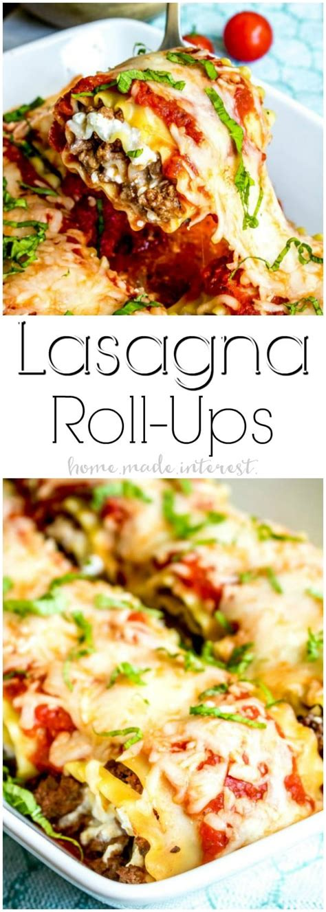 cottage cheese lasagna roll ups