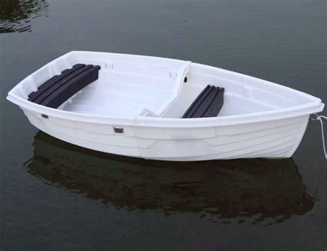 small inflatable fishing boats for sale china new design pe 2 block foldable plastic fishing boat