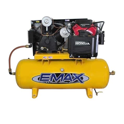 emax 24 hp honda electric start 120 gal horizontal air compressor eges24120t ebay