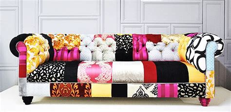 Funky Chesterfield Sofa by The Fabulous And Funky Patchwork Chesterfield Sofa From