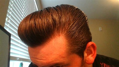Pomade Pompadour how to style a pompadour with thick wavy hair murray