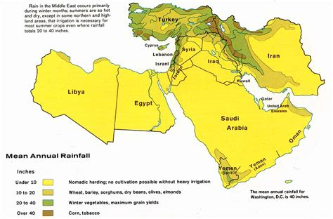 middle east rainfall map middle east maps perry casta 241 eda map collection ut