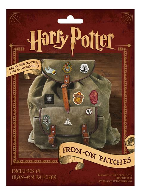 iron on harry potter iron on patches