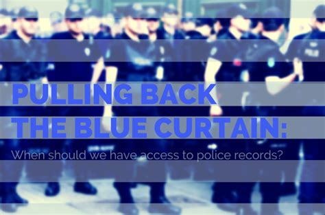 blue curtain police watch fac kpcc discussion on law enforcement and