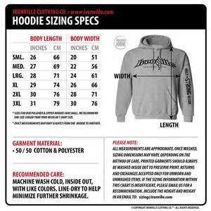 Clothing Size Charts » Home Design 2017