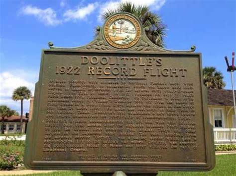 Asap Plumbing Jacksonville Fl by Jimmy Doolittle Historical Marker Jacksonville