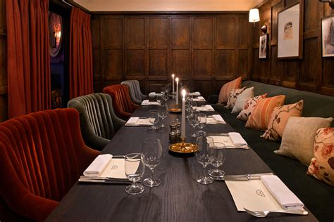 Rustic Dining Rooms restaurant dean street townhouse