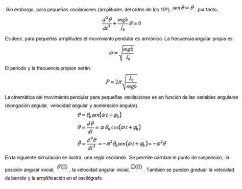 formula oscilacion amortiguada elasticidad movimiento oscilatorio monografias