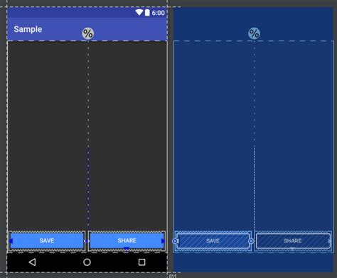 android layout use remaining space android evenly spacing views using constraintlayout