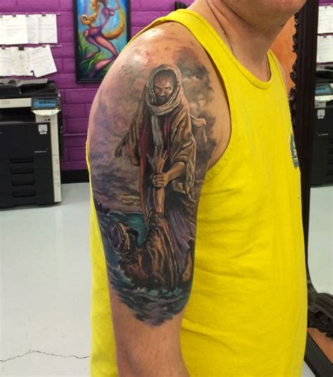 watercolor tattoo jesus best 25 religious sleeves ideas on