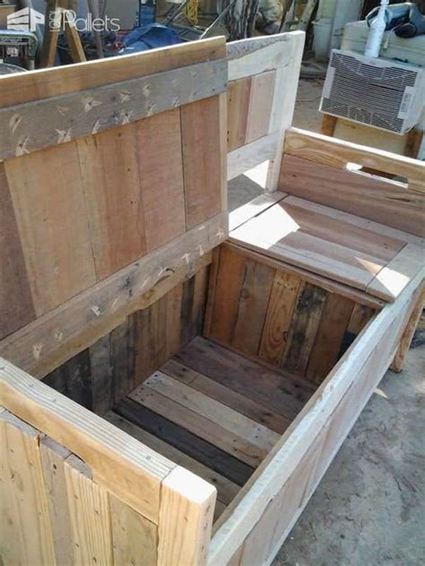 pallet storage bench pallet bench www pixshark com images galleries with a