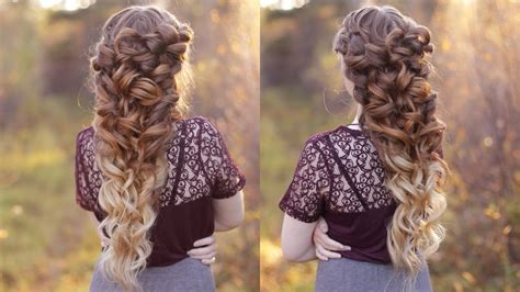 Wedding Hair With A Braid by Goddess Braid Wedding Hair