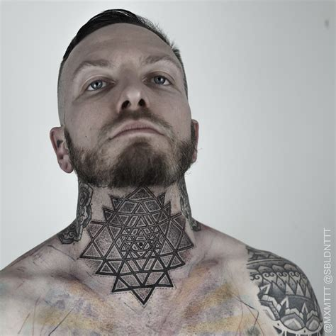 70 fantastic neck tattoos