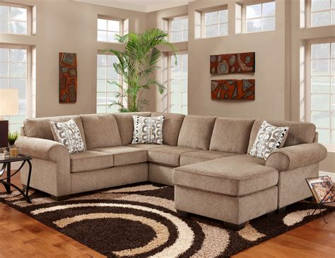 affordable furniture cocoa sectional sofa 3050