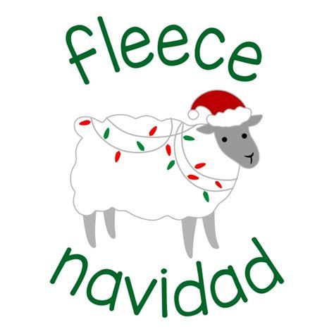 Fleece Navidad 2 fleece navidad cuttable design