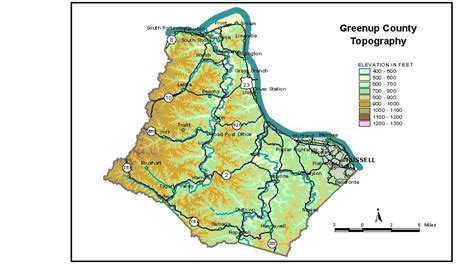 kentucky groundwater map groundwater resources of greenup county kentucky