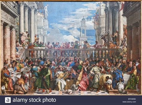 Wedding At Cana Logic by Wedding Feast At Cana Paolo Caliari Veronese Louvre