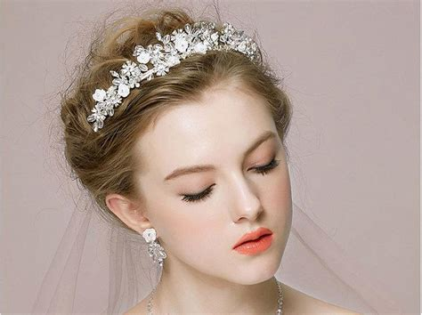 Vintage Inspired Wedding Hair Pieces by Vintage Inspired Hair Vine Ivory Freshwater Pearl