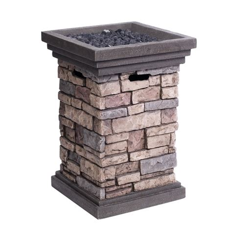 Lowes Propane Pit 199 post a mailbox or water on top home