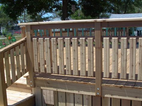 Patio Railing Designs Deck Railing Ideas