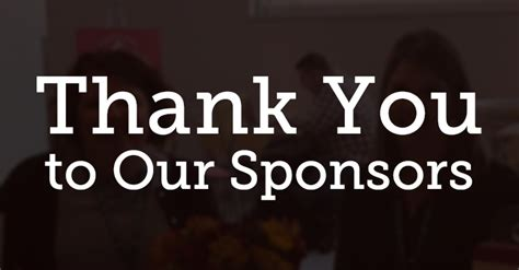 Thank You To Our Advertisers 2 by Thank You To All Of Our Sponsors Wordc Cincinnati 2017